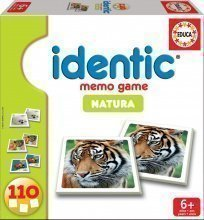 Pexeso Identic Memóriajáték Game Natura Educa 110 db állatokkal