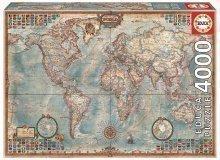 Puzzle The World Executive Map Educa 4000 delov od 15 leta
