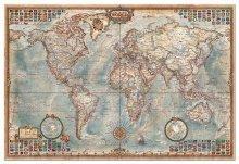 Puzzle 4000 - 8000 dielne - Puzzle The World Executive Map Educa 4000 dielov od 15 rokov_0