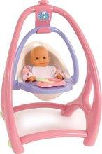 Staré položky - Stolička hojdačka a nosidlo Lilou pre bábiku 3v1 Smoby od 18 mes_2