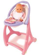 Staré položky - Stolička hojdačka a nosidlo Lilou pre bábiku 3v1 Smoby od 18 mes_3