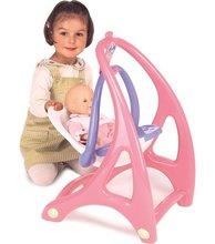 Staré položky - Stolička hojdačka a nosidlo Lilou pre bábiku 3v1 Smoby od 18 mes_4