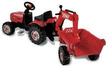 Staré položky - Traktor na šlapanie Smoby s prívesom a nakladačom_1