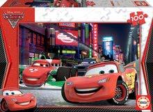 Dětské puzzle od 100–300 dílků - Puzzle Disney Auta 2 Educa 100 dílů od 5 let_0
