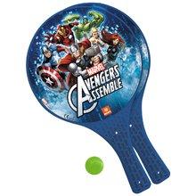 Komplet tenis na mivki Avengers Mondo z 2 loparjema in žogico