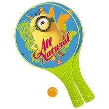 Tenis - Plážový tenis Mimoni Mondo s 2 raketami a loptičkou_0