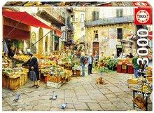 Educa 16780 puzzle Genuine La vucciria market, Palermo 3000 dielikov od 15 rokov