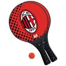 Strand tenisz A.C.Milan Mondo 2 ütővel és labdával piros