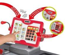 Obchody pre deti - Obchod City Shop Smoby s elektronickou pokladňou a vozíkom so 44 doplnkami_1