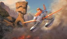 Drevené Disney puzzle - Drevené puzzle Lietadlá Educa 2x 50 dielov od 5 rokov_2