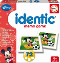 Pexeso Identic Mickey Mouse Educa 72 ks od 4 let