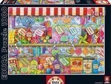 Puzzle Genuine Candy Shop Educa 1000 db 12 évtől