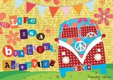 Puzzle 500 dielne - Puzzle Život je krásne dobrodružstvo Educa 500 dielov od 11 rokov_0