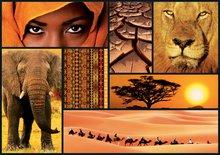 Puzzle 1000 dielne - Puzzle Colors of Africa Educa 1000 dielov od 12 rokov_0