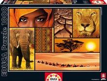 Puzzle Colours of Africa Educa 1000 db 12 évtől