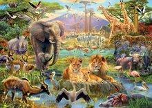 Puzzle 1500 dielne - Puzzle Genuine Africké napájadlo Educa 1500 dielov_0