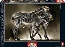 Puzzle Genuine Zebry Educa 500 dielov od 11 rokov
