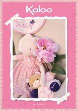 Handrové bábiky - Plyšový zajačik bábika Petite Rose-Musical Doll Kaloo v sukničke spievajúci 30 cm v darčekovom balení pre najmenších_5