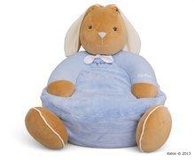 Fotoliu iepuraş de pluș Plume-Maxi Sofa Blue Rabbit Kaloo 45 cm albastru pentru cei mai mici