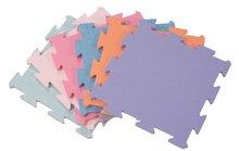 Penové puzzle Lee podložka pre najmenších 9 dielov pastelové