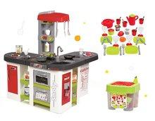 Set kuchynka pre deti Tefal Studio XXL Smoby s magickým bublaním a jedálenská súprava