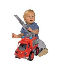 Staré položky - Súprava 3 autíčok Maxi Bolide Smoby sanitka, hasičské a smetiarske auto dĺžka 45 cm_2