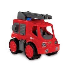 Staré položky - Súprava 3 autíčok Maxi Bolide Smoby sanitka, hasičské a smetiarske auto dĺžka 45 cm_4