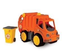 Staré položky - Súprava 3 autíčok Maxi Bolide Smoby sanitka, hasičské a smetiarske auto dĺžka 45 cm_5