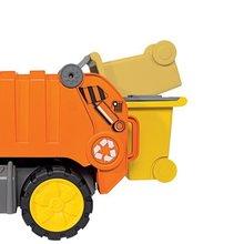 Staré položky - Súprava 3 autíčok Maxi Bolide Smoby sanitka, hasičské a smetiarske auto dĺžka 45 cm_7