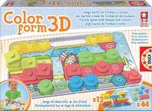 Puzzle pre najmenších - Priestorové puzzle Color Form 3D Baby Educa 42 dielov od 24 mes_0