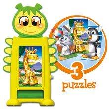 Puzzle pre najmenších - Skladačka Baby Tower Puzzle Educa s kockami od 18 mes_0