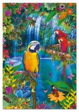 Puzzle 500 dielne - Puzzle Genuine Bird Tropical Land Educa 500 dielov od 11 rokov_0