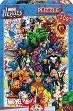 Puzzle Marvel Heroes Educa 500 delov od 11 leta