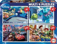 Gyerek puzzle Pixar Educa 150-100-80-50 db 5 éves kortól