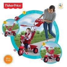 Trojkolky od 10 mesiacov - Trojkolka Fisher-Price Royal Red smarTrike červená od 10 mes_0