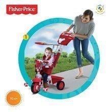 Trojkolky od 10 mesiacov - Trojkolka Fisher-Price Royal Red smarTrike červená od 10 mes_1