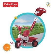 Trojkolky od 10 mesiacov - Trojkolka Fisher-Price Royal Red smarTrike červená od 10 mes_2