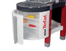 Staré položky - Elektronická kuchynka Superchef Tefal Smoby s funkciou vody a barovým pultom a zvukmi a 37 doplnkami_5