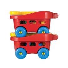 Baba építőjáték és kockák - Kiskocsi építőjátékkal Abrick Écoiffier 60 darabos 12 hó-tól_0