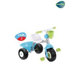 Trojkolky od 15 mesiacov - smarTrike 1390600-S modro-zelená trojkolka Cupcake so slnečníkom od 15 mes_1