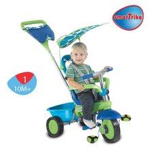 Trojkolky od 10 mesiacov - Trojkolka Plus Fresh smarTrike zeleno-modrá od 10 mes_1