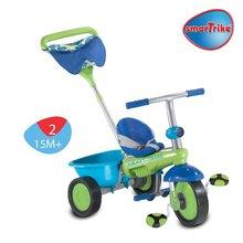 Trojkolky od 10 mesiacov - Trojkolka Plus Fresh smarTrike zeleno-modrá od 10 mes_2