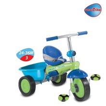 Trojkolky od 10 mesiacov - Trojkolka Plus Fresh smarTrike zeleno-modrá od 10 mes_3