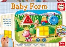 Puzzle pre najmenších - Puzzle Baby Form Tvary Educa 4-obrázkové od 24 mes_1