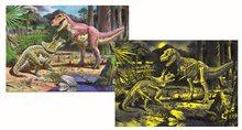Detské puzzle od 100-300 dielov - Puzzle Dinosaury Educa fosforeskujúce 150 dielov od 6 rokov_0