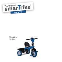 Trojkolky od 10 mesiacov - Trojkolka Dream Legend Touch Steering 4v1 smarTrike s 2 taškami modro-čierna od 10 mes_2