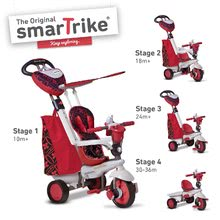 Tricikli Dream 4in1 New Touch Steering smarTrike piros