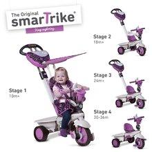 Trojkolky od 10 mesiacov - Trojkolka Dream Team Purple Touch Steering 4v1 smarTrike fialovo-šedá od 10 mes_4