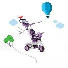 Trojkolky od 10 mesiacov - Trojkolka Dream Team Purple Touch Steering 4v1 smarTrike fialovo-šedá od 10 mes_5