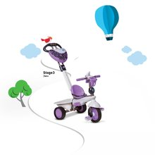 Trojkolky od 10 mesiacov - Trojkolka Dream Team Purple Touch Steering 4v1 smarTrike fialovo-šedá od 10 mes_7